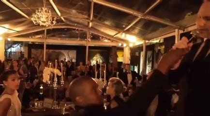 Lol Kanye West interrupts the best man's toast at his