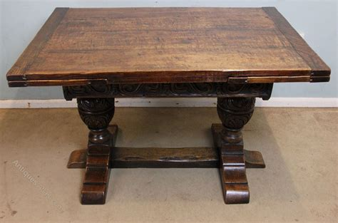 antique draw leaf table antique oak draw leaf refectory dining table antiques atlas