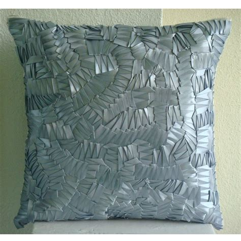 26x26 Pillow Covers by Sham Covers 26x26 Silk Ribbon Embroidered Accent Pillow