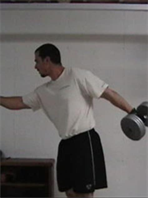 dumbbell arm swings ab exercises 2 dumbbell swings