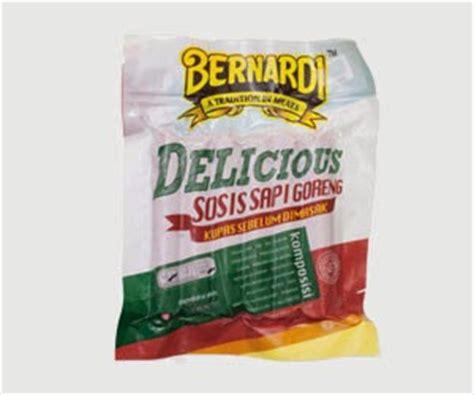 Bernardi Sosis Sapi 500g armera food indonesia bernardi