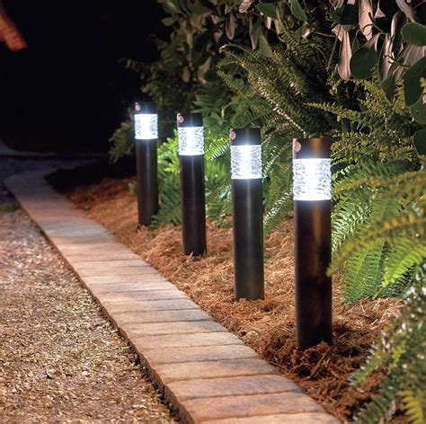 Solar Landscape Lighting Better Homes And Gardens Outdoor Path Lighting Fixtures