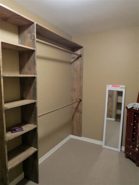 let s just build a house walk in closets no more living out of laundry baskets diy