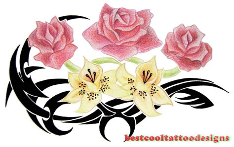 rose tattoo designs flash best cool tattoo designs