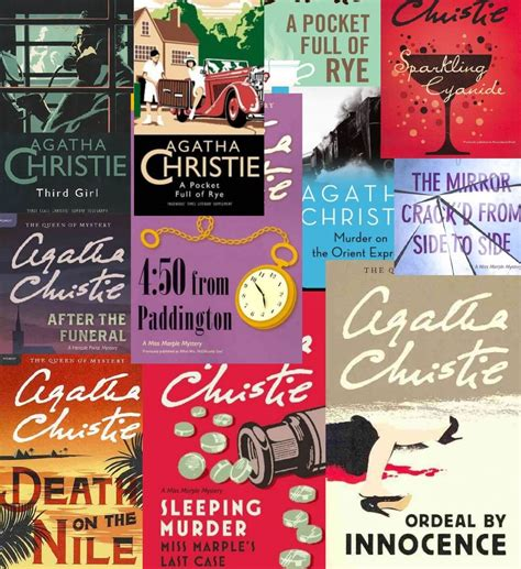 agatha christie best books top ten agatha christie novels strand mag