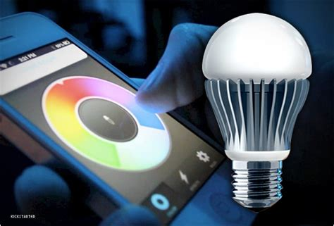 smartphone controlled lights lifx smartphone controlled light bulb