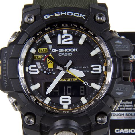 Casio G Shock Gwg 1000 1a3 Green Intl casio g shock mudmaster gwg 1000 1a3