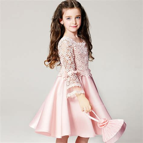 Gaun Tutu Flower Lace Princess Anak Dress Pesta Wedding Bayi Balita aliexpress buy dresses for high quality