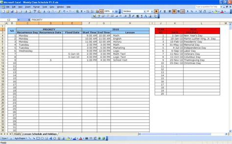 Planning Schedule Template Excel by Planning Spreadsheet Template Schedule Spreadsheet