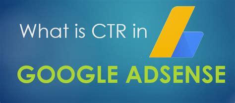 adsense what is it ctr in google adsense what is it techdotmatrix