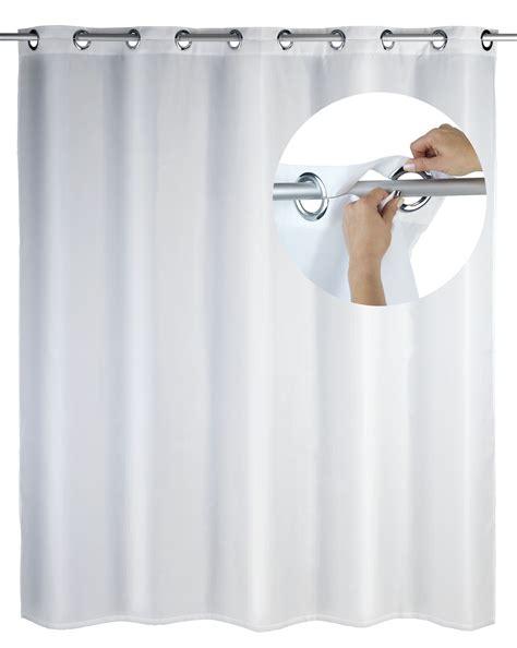 Duschvorhang Weiß Waschbar by Duschvorhang Comfort Flex Wei 223 Polyester 180 X 200 Cm