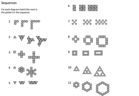 pattern worksheet tes pattern sequences by 06awatson teaching resources tes