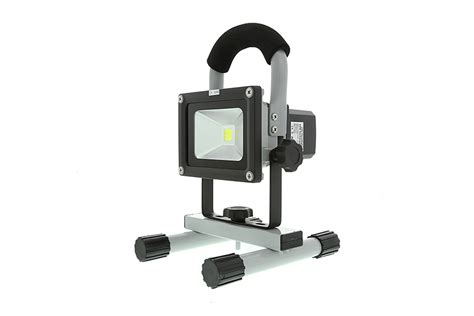 Led Cob 6cm Cover Merah 10w portable high powered rechargeable led work light