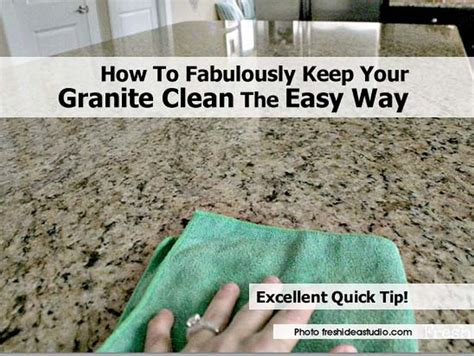home repairs simple ways to keep your home how to fabulously keep your granite clean the easy way