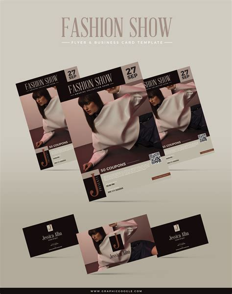 fashion flyers templates for free free fashion show flyer business card template