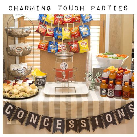 sports themed birthday decorations boy sports theme birthday party decor concessions banner