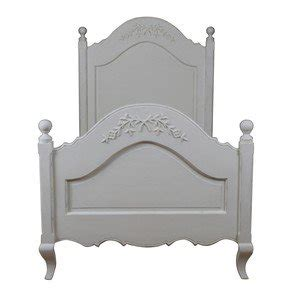 shabby chic single bed frame single bed frame quot shabby chic quot soft ivory solid wood