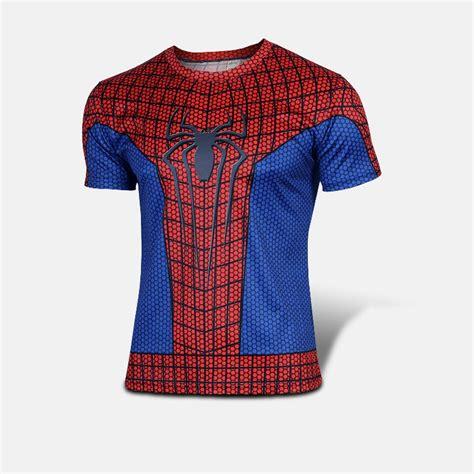 Spider Tshirt aliexpress buy t shirt heroe sleeve t shirt the amazing spider