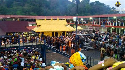 Sabarimala Sannidhanam Room Booking by Sabarimala Temple Opening Dates 2016 2016 17 Makara