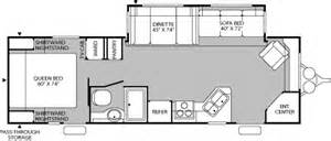 prowler cer floor plans 2005 fleetwood prowler travel trailer rvweb com