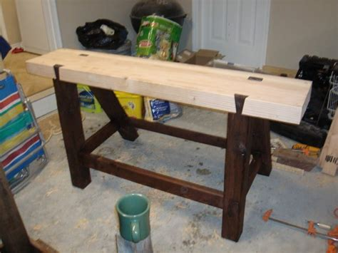 woodworking with only tools roubo workbench tools only by seandietrich