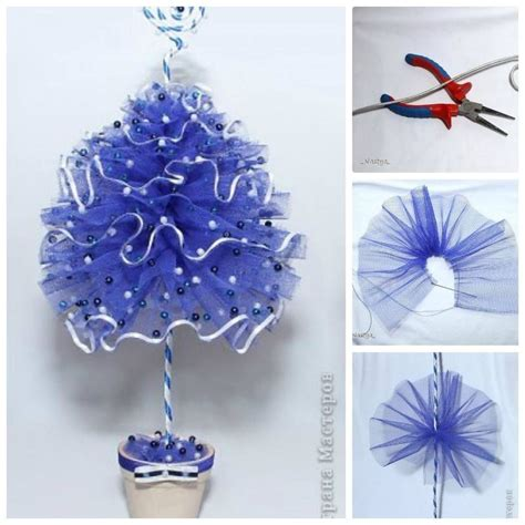 tulle christmas tree pictures photos and images for