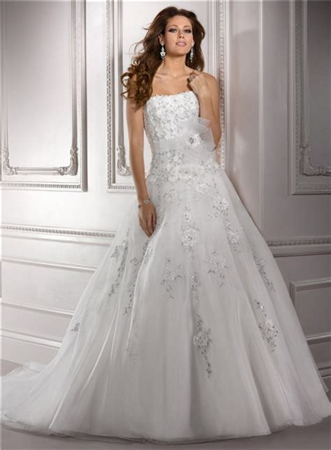 beaded organza wedding dress gown strapless beaded lace organza wedding dress with