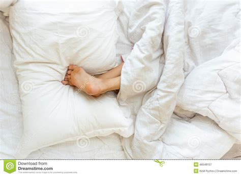 Holding Pillow While Sleeping by Sleeping And Holding On