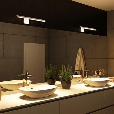 modern bathroom lighting for a more inviting bathroom decohoms wezen vmw11400al 21 quot led bathroom light vanity light modern bathroom light fixture low
