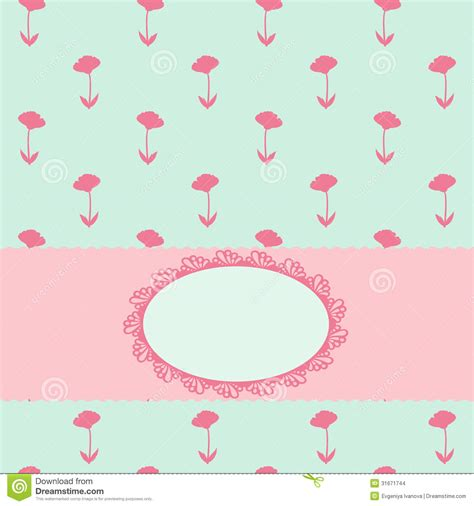 pastel color card templates simple background invitation card stock illustration