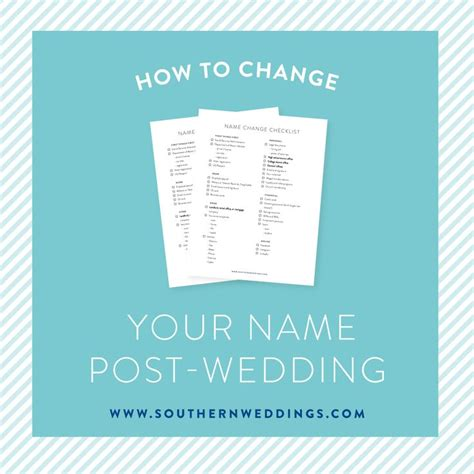 Wedding Name Change by 17 Best Ideas About Name Change Checklist On