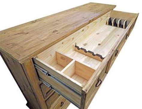Dresser With Gun Storage by Dallas Designer Furniture Mansion Rustic Bedroom Set
