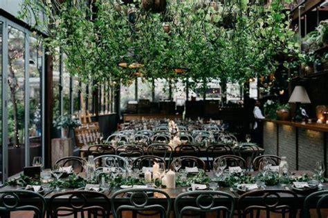 chic indoor garden wedding   grounds  alexandria