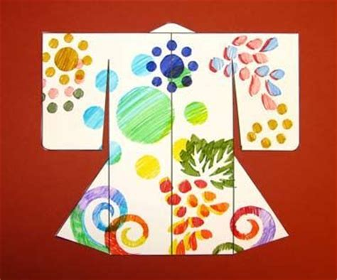 Japanese Paper Craft Ideas - make a kimono activity free template japan for