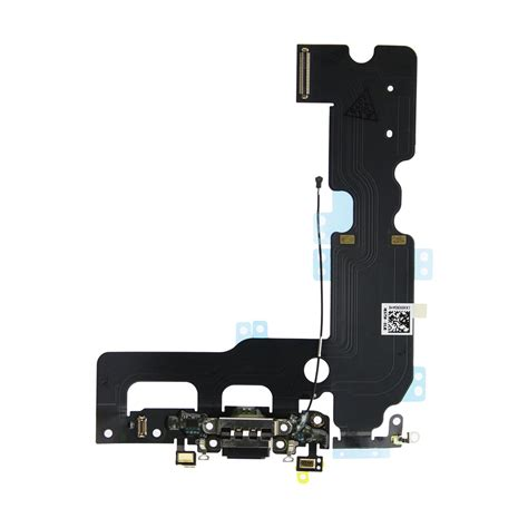 iphone 7 plus charging dock port assembly replacement black