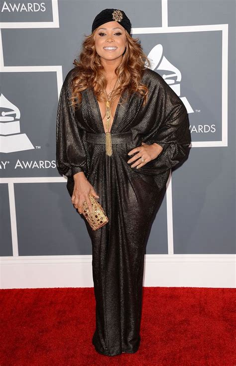 Dress Tamina tamia grammys 2013 flouting grammy dress code