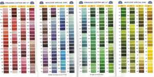 dmc color chart dmc thread color chart brown hairs