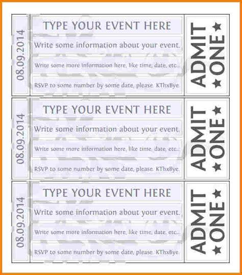 free printable raffle ticket template authorization free event ticket template authorization letter pdf