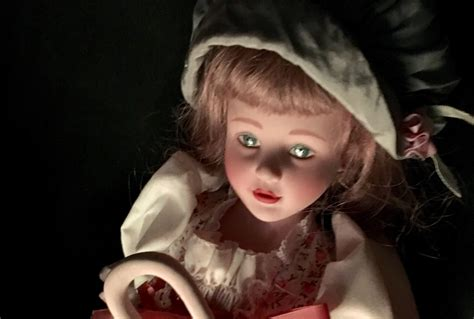 haunted doll collector gaze in terror or boredom at this livestream of a quot haunted