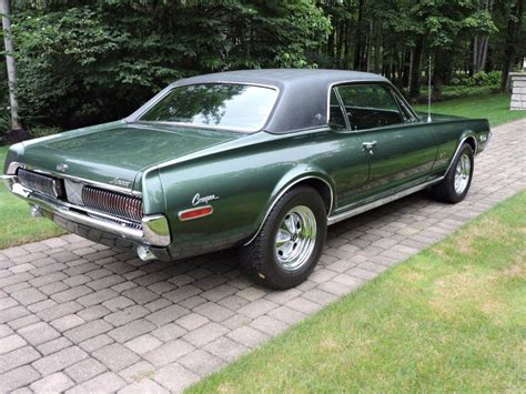 mercury cougar xr gt completely restored numbers