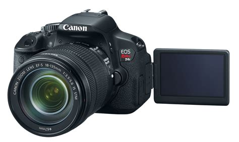 t4i canon unveils 849 rebel t4i dslr with multitouch