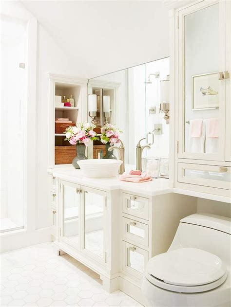bhg bathrooms built in nooks transitional bathroom bhg
