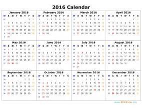 printable calendars 2016 new blog