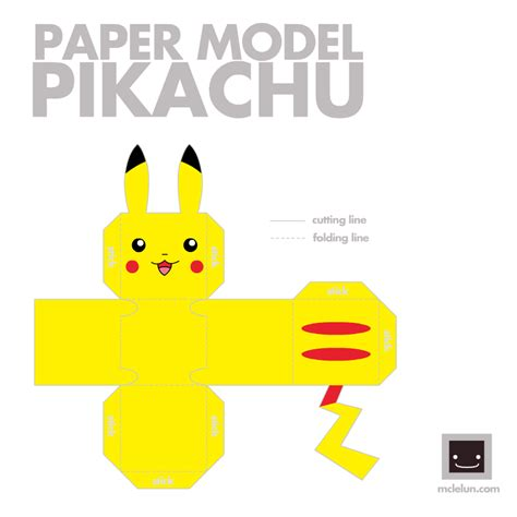 Papercraft Pikachu - pikachu images pikachu papercraft hd wallpaper and