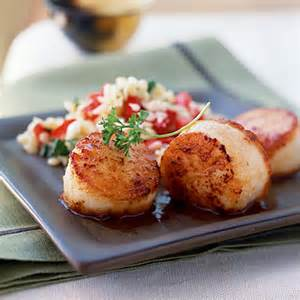 simple seared scallops and easy 5 ingredient
