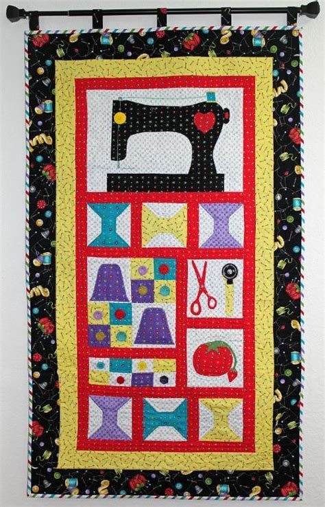 Quilt Patterns For Wall Hangings by Sew Let S Sew Quilted Wall Hanging By Barbara Weiland
