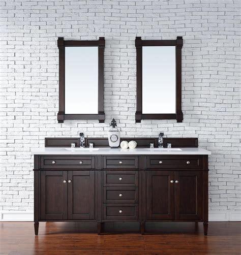 bathroom vanity no top contemporary 72 inch double sink bathroom vanity mahogany