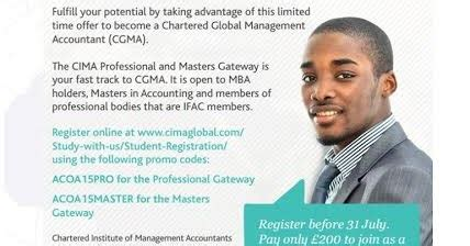 Cima Exemptions For Mba by Cima Offers 50 Discount Fast Track Route To Mbas Msc