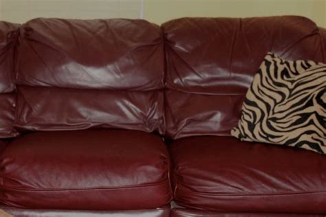 Refinish Leather Sofa Refinishing A Leather Sofa