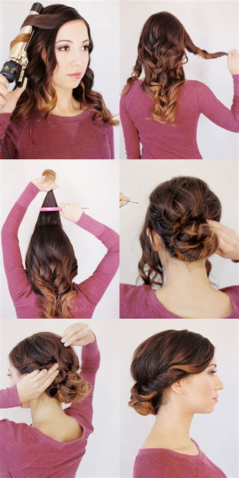 easy and quick hairstyles for night out hairstyle ideas for every occassion fashionsy com